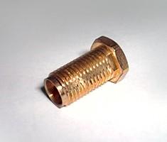 真鍮3604<br /> ネジ+エンドミル加工